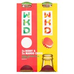 WKD Berry and Mango Alcoholic Drink Multipack