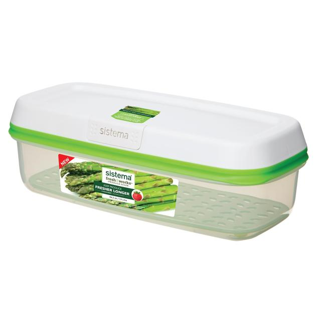 Sistema FreshWorks Rectangular Food Storage Container