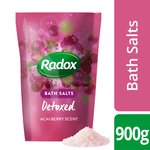 Radox Detoxed Bath Salts Acai Berry