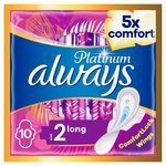 Always Platinum Long (Size 2) Wings