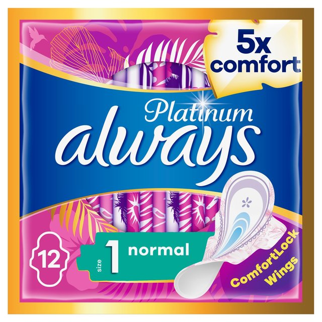 Always Platinum Normal (Size1) Wings