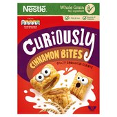Nestle Curiously Cinnamon Bites Cereal