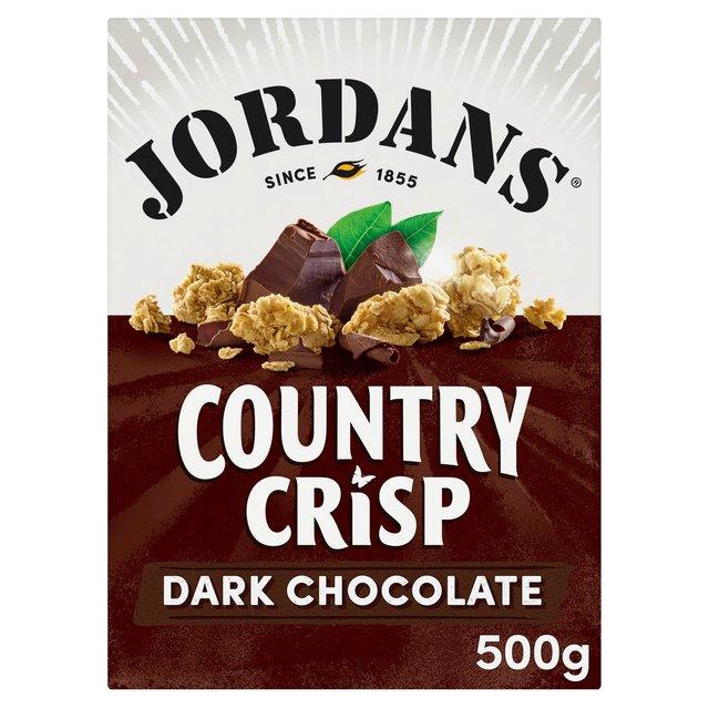 Jordan's Country Crisp With 70% Cocoa Dark Chocolate