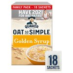 Quaker Oat So Simple Golden Syrup Family Pack Porridge
