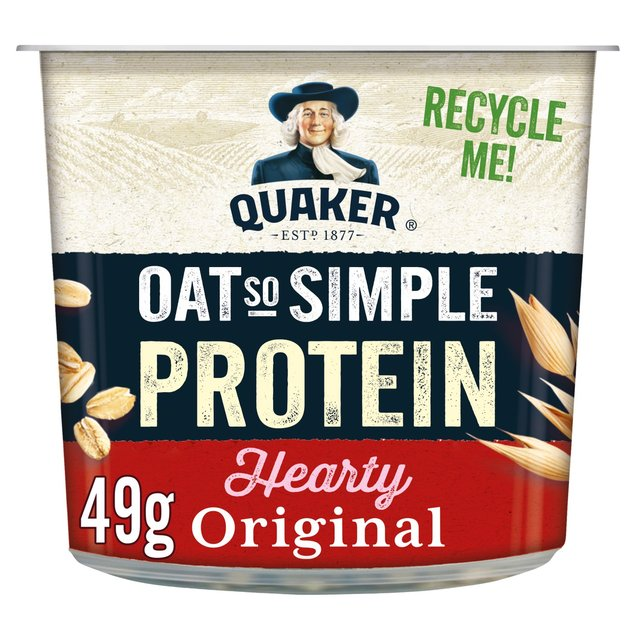 Quaker Oat So Simple Protein Original Porridge Pot
