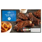 Morrisons Salt & Chilli Meaty Pork Shoulder Ribs