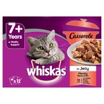 Whiskas 7+ Years Casserole In Jelly Meaty Selection