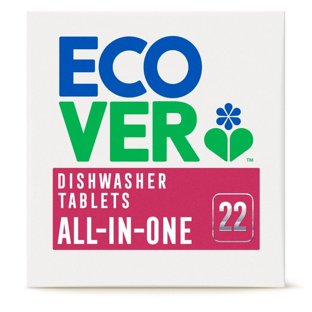 Ecover All - In - One Dishwasher Tablets