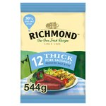 Richmond 12 Thick Pork Sausages 30% Less Salt & Fat