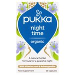 Pukka Night Time Organic 30 Capsules
