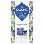 Pukka 7 Day Kit Organic Night Time