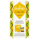Pukka 7 Day Kit Organic Turmeric Brainwave