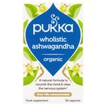 Pukka Wholistic Ashwagandha Organic Food Supplement 30 Capsules