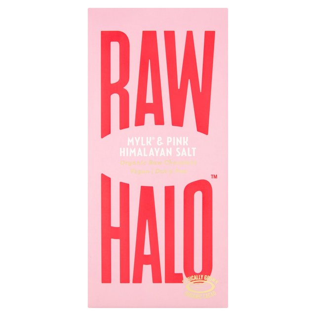 Raw Halo Artisan Raw Chocolate Mylk + Pink Himalayan Salt