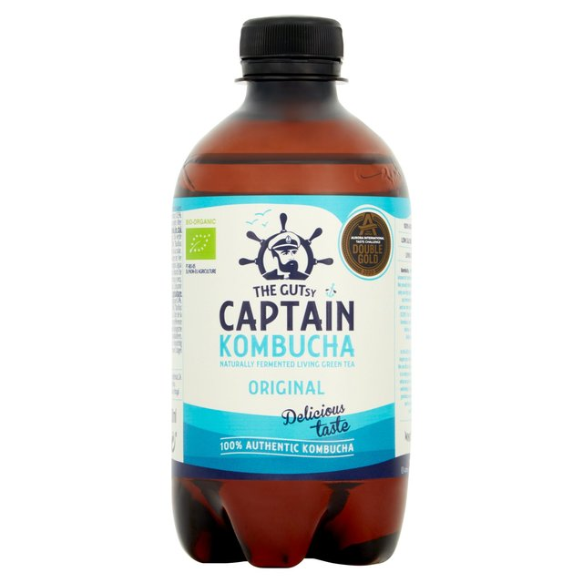 Captain Kombucha Legendary Bubbly Drink Original