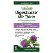 Natures Aid Digest Eeze Milk Thistle 60 Tablets
