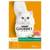 Purina Gourmet Gold Pate Collection With Vegetables