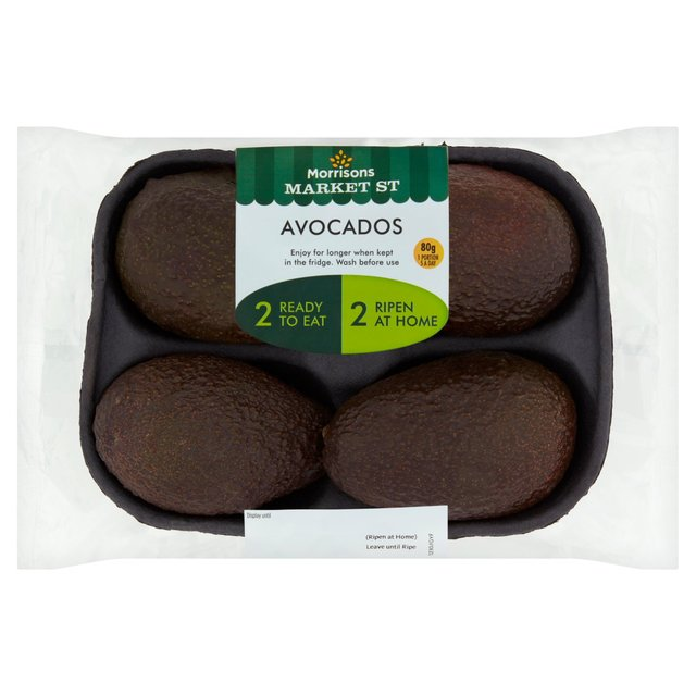 Morrisons Market St Eat Now Eat Later Avocados