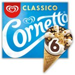 Cornetto Classico Ice cream Cone 6 Pack