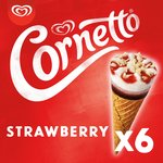 Cornetto Strawberry Ice cream cone