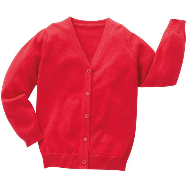 Nutmeg Red Cardigan 5 - 6 Years