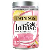 Twinings Rose Lemonade Cold Infuse 12s