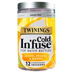 Twinings Lemon Orange & Ginger Cold Infuse 12s