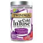 Twinings Blueberry Apple & Blackcurrant Cold Infuse 12s