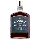 Morrisons Boodles British Mulberry Flavoured Gin Abv 30