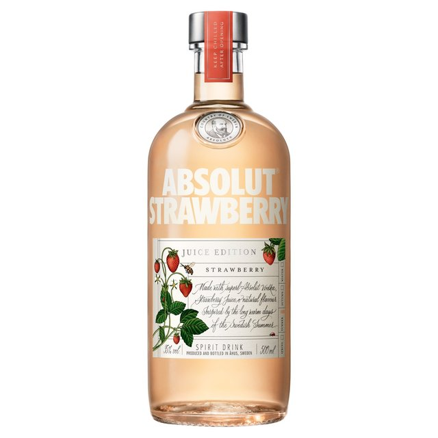 Absolut Juice Edition Strawberry (Abv 35%)