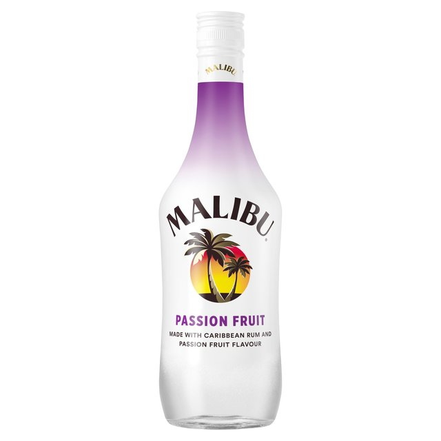 Malibu White Rum with Passionfruit Flavour
