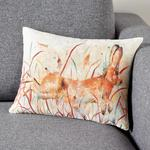 Morrisons Tan Leaping Hare Cushion