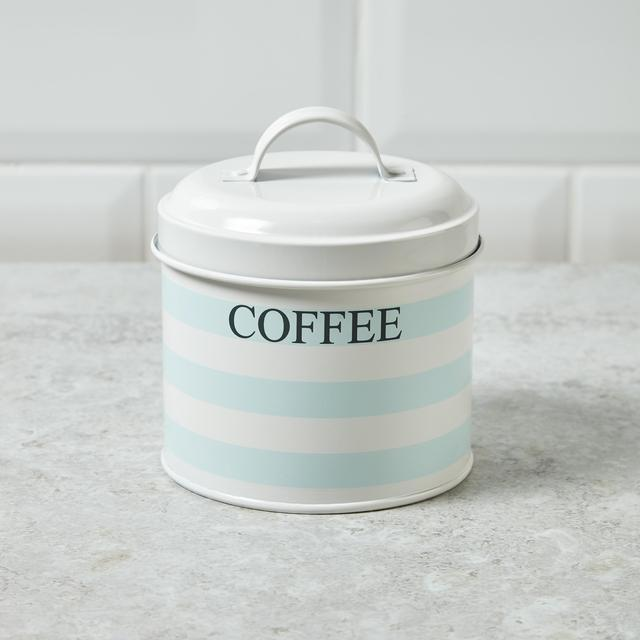 Morrisons St. Ives Coffee Tin Canister