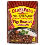 Old El Paso Chili Con Carne Fire Roasted Tomatoes Cooking Sauce