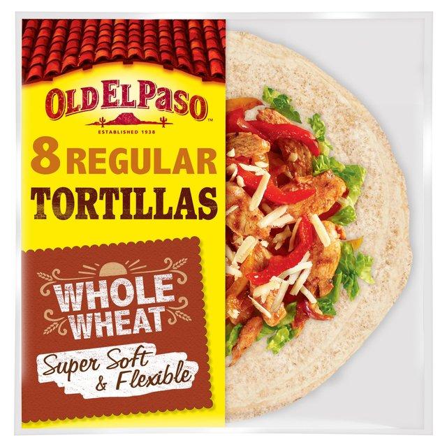 Old El Paso 8 Super Soft Whole Wheat Tortillas