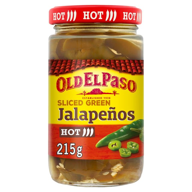 Old El Paso Slice Green Jalapenos
