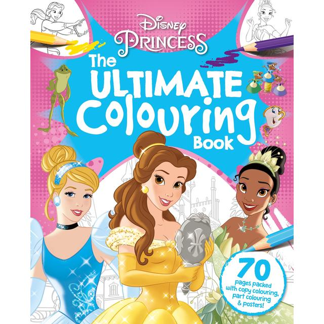 Disney Princess Mix, The Ultimate Colouring Book Morrisons