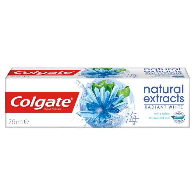 Morrisons: Colgate Natural Extracts Pure White 75ml(Product Information)