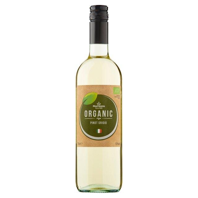 Morrisons Organic Pinot Grigio