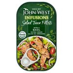 John West Salad Tuna Fillets With Basil