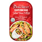 John West Salad Tuna Fillets With Chilli & Garlic