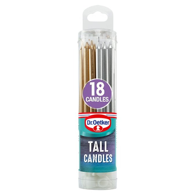 Dr. Oetker 18 Tall Candles