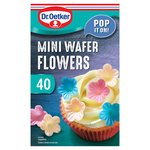 Dr. Oetker 40 Mini Wafer Flowers
