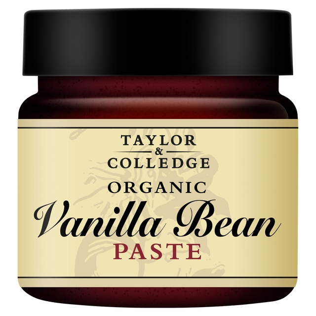 Taylor & Colledge Organic Vanilla Bean Paste 65G