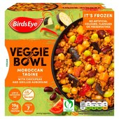 Birds Eye Veggie Bowls Moroccan Tagine With Chickpea & Aubergine