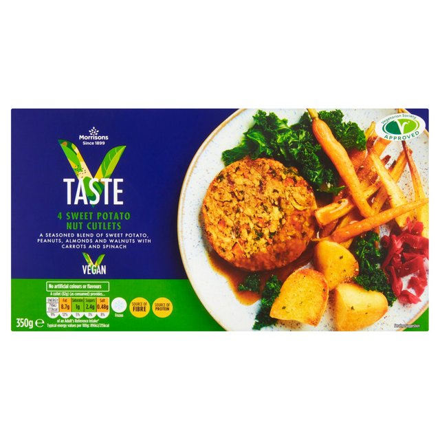 Morrisons V Taste Sweet Potato Nut Cutlet