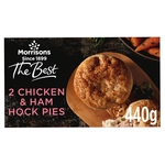 Morrisons The Best Chicken, Leek & Ham Pies