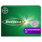 Berocca Blackcurrant Flavour Effervescent Tablets