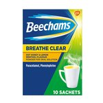 Beechams Breathe Clear Hot Honey & Lemon Sachets