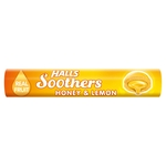 Halls Soothers Honey & Lemon